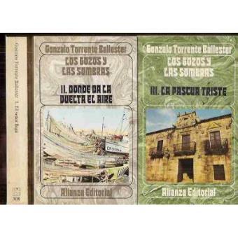 Los Gozos Y Las Sombras 3 Volúmenes Torrente Ballester Gonzalo 5 En Libros Fnac