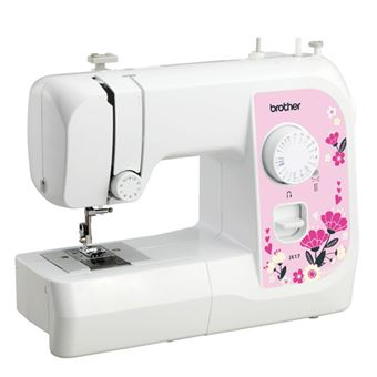 Mini máquina de coser eléctrica multifuncional brother JX17 17 puntos