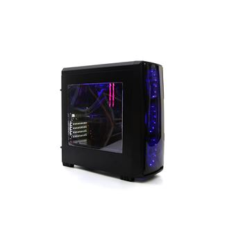 Ordenador gaming de sobremesa DeepGaming Antrax Intel Core i5-9400, 16GB RAM, 240GB SSD + 2TB HDD, Nvidia GTX1650 4GB GDDR5