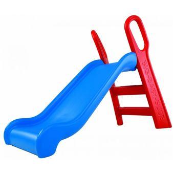 Big 800056704 Tobogán infantil rojo y azul, 118 cm