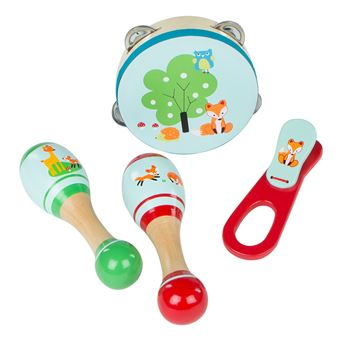 Instrumentos musicales de madera Play&Learn