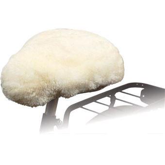 Funda de sillín de bicicleta Willex 30120 blanco