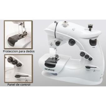 Máquina de coser portatil de 7 pulgadas automatica pedal