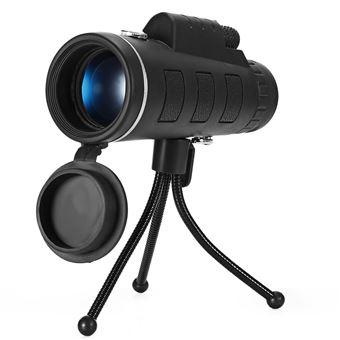 Telescopio monocular de 40X60 HD con trípode