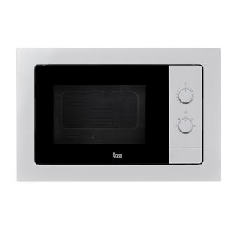 Microondas Teka MB 620 BI Integrado 20L 700W Acero inoxidable, Color blanco