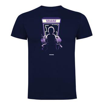 Camiseta manga corta Friking, Modelo 1020 Harry Potter, Arcade snake Talla S, Navy