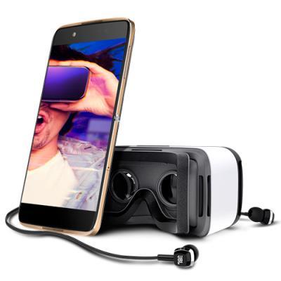 Telefono Movil Alcatel Idol 4 con Gafas vr 4g Libre oro