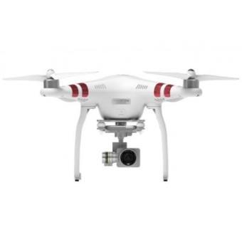 Drone con cámara integrada Phantom 3, Blanco y Rojo