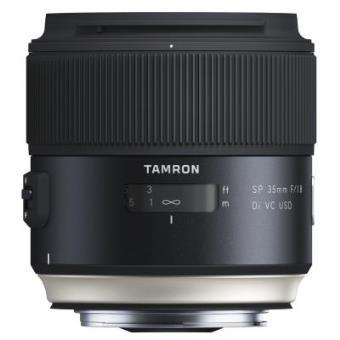 Tamron SP - Objetivo para Canon DSLR (distancia focal fija 35mm, apertura f/1.8, Di, VC, USD, diámetro filtro:...