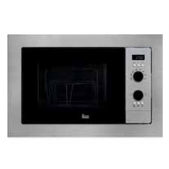 Microondas Teka MS 620 BIH Integrado 20L 700W Negro, Acero inoxidable