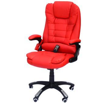 Silla de escritorio masaje reclinable sillon 6 puntos for Silla de escritorio precio