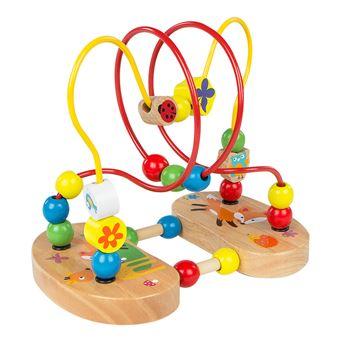 Laberinto con figuras de madera - Play & Learn