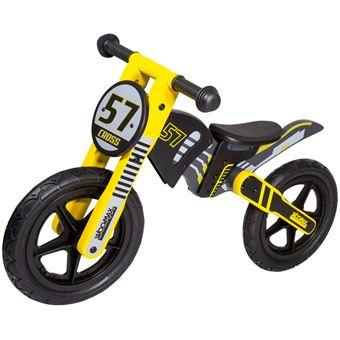 """Bici sin pedales en madera Cross 57 12"""""""" Woomax"""