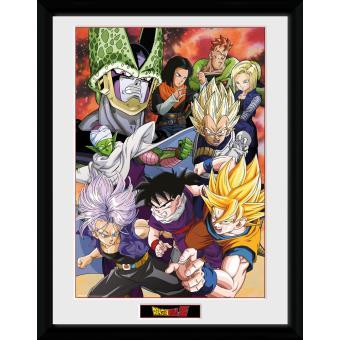 Fotografía enmarcada Dragon Ball Z Saga de Célula 30x40 cm