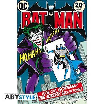"""Póster DC Cómics """"""""joker's back in town"""""""" (91.5x61)"""