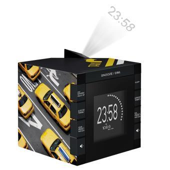 Reloj Despertador y Alarma con Projector