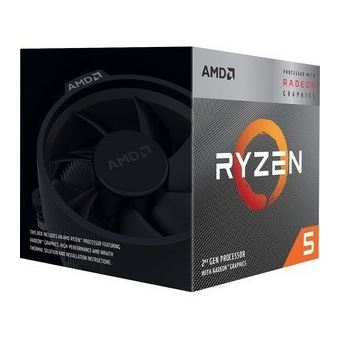 Micro Amd Am4 Ryzen 5 3400G 3.7Ghz (4.20Ghz Oc)