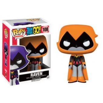 Funko POP! Teen Titans: Raven Orange Edicion Limitada