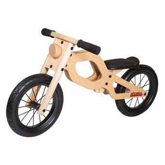 Bici madera sin pedales bebe