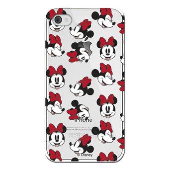 Funda Para Iphone 4 Y Iphone 4s Oficial De Disney Minnie Caras Transparente De Silicona Flexible Y Resistente De Clásicos Disney Fundas Y Carcasas Para Teléfono Móvil Los Mejores Precios Fnac