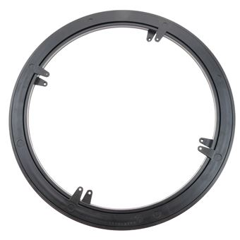 Base giratoria manual PrimeMatik de 45 cm y 100Kg de carga.</br>Plataforma rotatoria de color negro