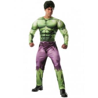 Disfraz Hulk Marvel deluxe para adulto Original - Talla - Estándar