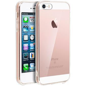 c93cf50140e Carcasa Apple iPhone 5 / 5S / SE y bordes Bumper Mocca - Transparente -  Fundas y carcasas para teléfono móvil - Los mejores precios | Fnac