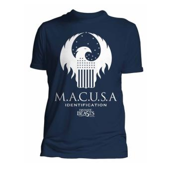 Camiseta Harry Potter Fantastic Beasts, Talla Macusa , Talla XXL