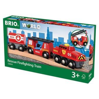 Brio 33844 Tren de bomberos