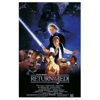 Maxi Poster Star Wars El Retorno del Jedi - Episodio VI