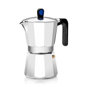 Cafetera italiana Monix induction express cafetera 6 tazas aluminio recubrimiento antiadherente