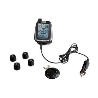 SPY Sensores de presión de neumáticos TPMS ideal para coches o mini caravanas con 4 sensores externos