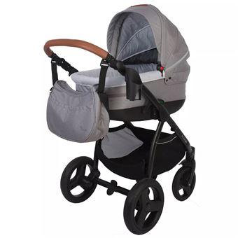Silla/Coche de bebé 4 en 1 Bo Jungle, B-Zen Gris claro B700505