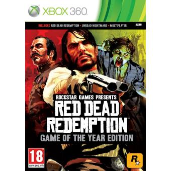 Red Dead Redemption Games of the Year Edition - Classics Pegi18 (xbox 360) [importación Inglesa]