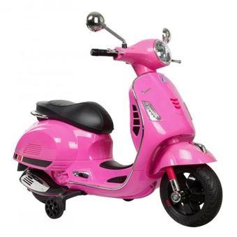 Vespa-Moto de batería para niños-Rosa-Motoor Kids