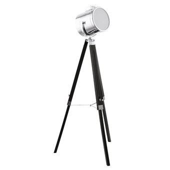 Lámpara de pie Eglo, Upstreet 94368, 150 cm, color metálico Negro