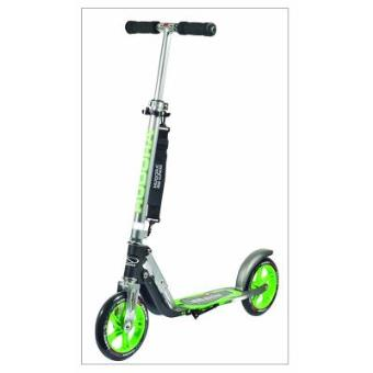 Hudora 14695 Patinete Big Wheel GS 205, verde / gris