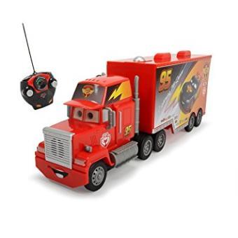 Cars - Juguete Camión con luz y Sonido, Color Negro (dickie 3089002)
