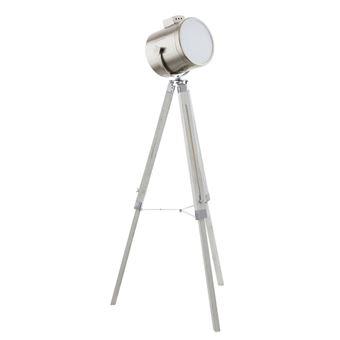 Lámpara de pie Eglo, Upstreet 94371, 150 cm, color metálico