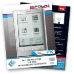 atFoliX FX-Clear f/ Sony PRS-600 Reader Touch Edition PRS-600 protector de pantalla