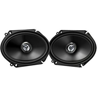 Jvc Cs-dr6820-altavoces Para Coche, Color Negroaltavoces Car-audio