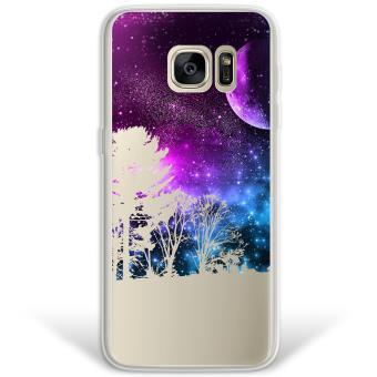 12ba0be91a4 Funda Samsung Galaxy S7 Edge híbrida Universo Y Arboles Rígida y bordes de  TPU Silicona - Transparente - Fundas y carcasas para teléfono móvil - Los  mejores ...