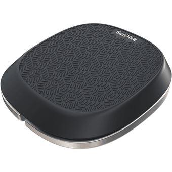 Copia de Seguridad Automática 128gb Sandisk Base Ixpand y Carga Rápida Para Iphone con 15w de Potencia Diseño Resistente en Goma Suave