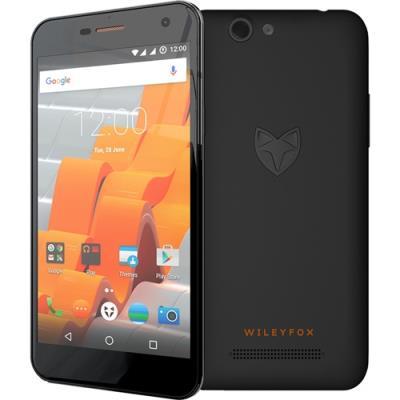 Wileyfox Spark (8Go, Dual SIM, Negro)
