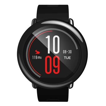 Smartwatch Amazfit PACE Bluetooth 4.0 con GPS y Podómetro Glonass, Negro