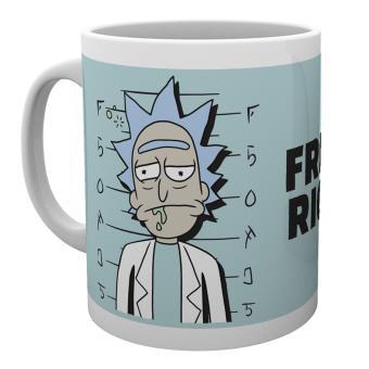 Taza Rick y Morty Free Rick