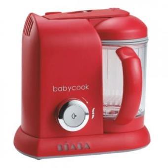 Robot de cocina Béaba Babycook Solo rojo