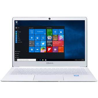"PC Portátil Cenava P14 14.0"""" Windows 10 6GB+480GB HDMI Dual WiFi Notebook, Blanco"