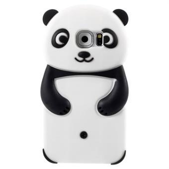 2597171d047 Carcasa de Silicona 3D Panda para Samsung Galaxy S6 - Negro / Blanco -  Fundas y carcasas para teléfono móvil - Los mejores precios | Fnac