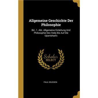 Serie ÚnicaAllgemeine Geschichte Der Philosophie HardCover